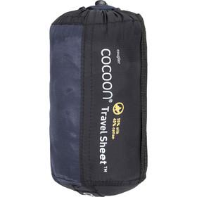 Cocoon TravelSheet-Coupler Fundas para sacos Seda Algodón, tuareg